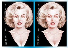 4D Marilyn Monroe